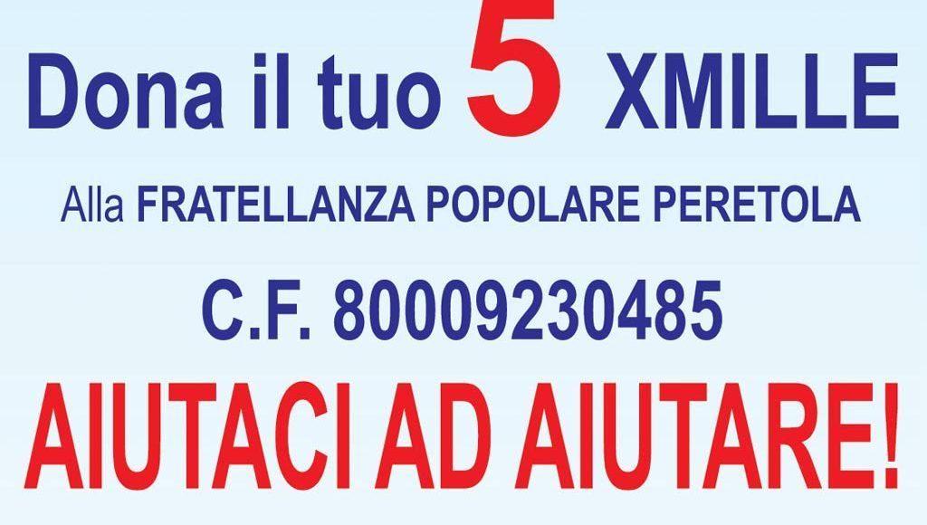 5x1000- Fratellanza Popolare Peretola Firenze
