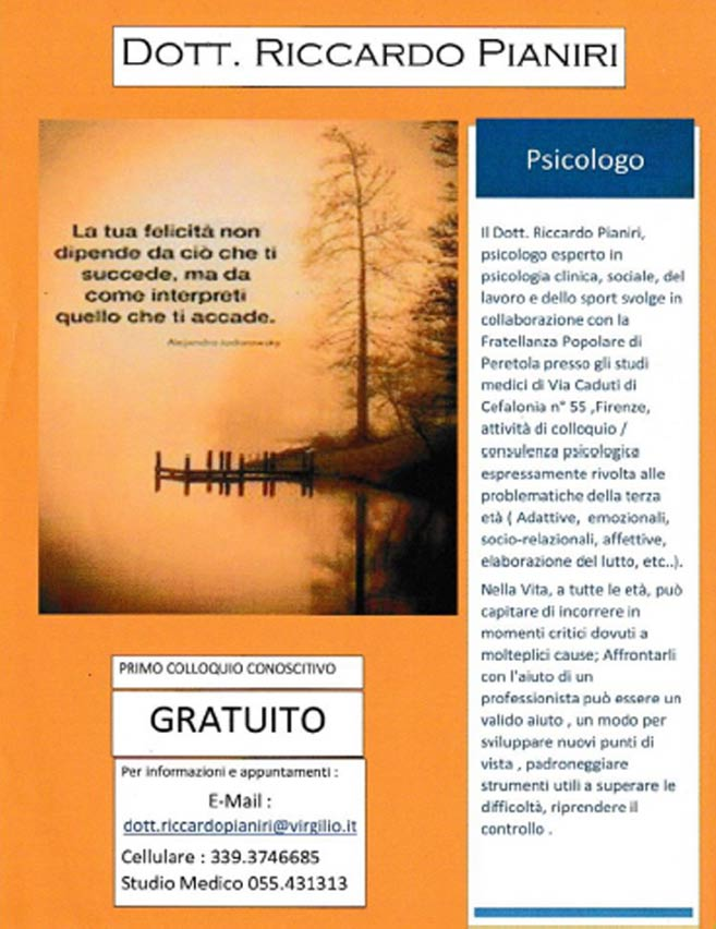 Studi Medici - Fratellanza Peretola Firenze