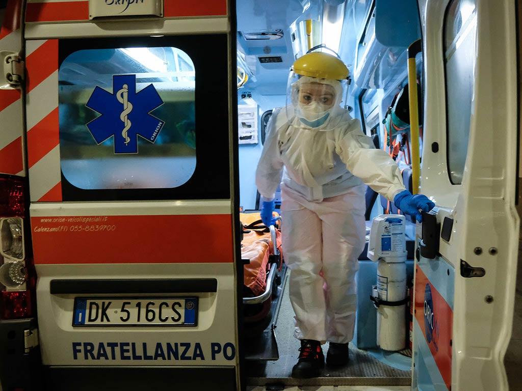 Emergenza 112 Fratellanza Peretola Firenze